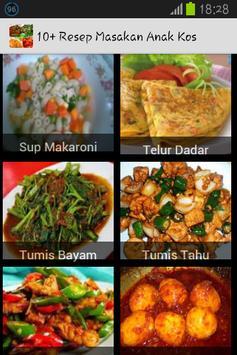 10+ Resep Masakan Anak Kos poster