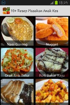 10+ Resep Masakan Anak Kos apk screenshot