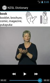 NZSL Dictionary apk screenshot