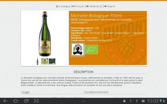 GiTINi - Brasserie Dupont apk screenshot