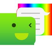 One Message 7 - Emoji, Flat icon