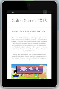 Guide for POU poster