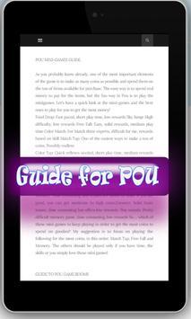 Guide for POU apk screenshot