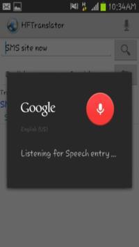 HFTranslator apk screenshot