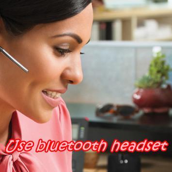 Use bluetooth headset apk screenshot