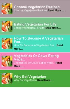 Eat Vegetarian poster