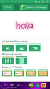 Text Art Designer for Chat apk screenshot