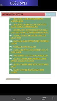 High Fiber Recipe Collection poster