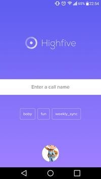 HighfiveRTC poster