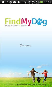 Findmydog Dog GPS Locator poster