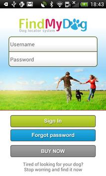 Findmydog Dog GPS Locator apk screenshot