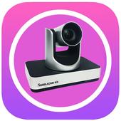 HuddleCam Air PTZ Control App icon