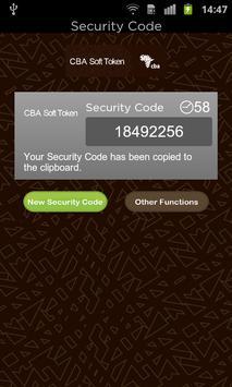 CBA Mobile Token apk screenshot
