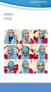 Tutorial Hijab Shiffon 3 apk screenshot
