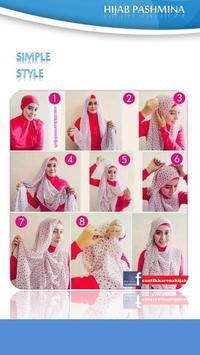 Tutorial Hijab Pashmina 2 apk screenshot