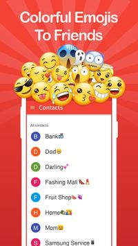 Contacts + Emojis Pro poster