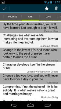 QuoteThis: Quotes & Sayings apk screenshot
