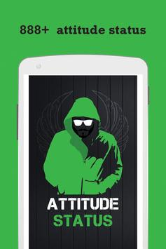 Attitude status and messages poster
