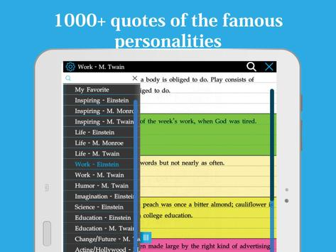 Famous personality Quotes apk screenshot