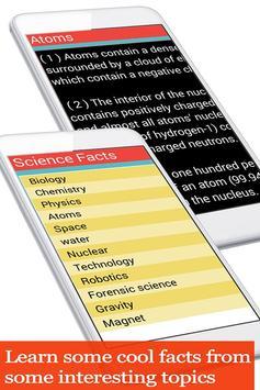 Amazing Science facts apk screenshot