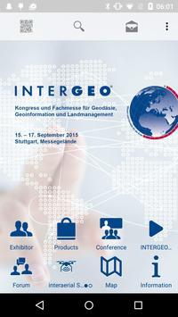 INTERGEO 2015 poster