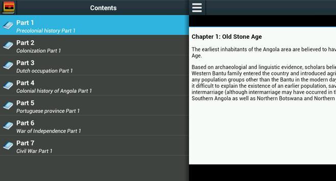 History of Angola apk screenshot