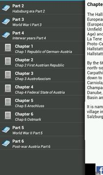 History of Austria apk screenshot