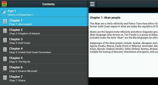 History of Ghana apk screenshot