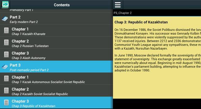 History of Kazakhstan apk screenshot