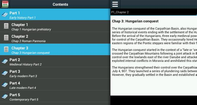 History of Hungary apk screenshot