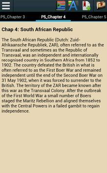 History of South Africa apk screenshot