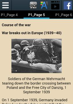 World War II History apk screenshot