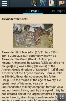 Alexander The Great Biography apk screenshot
