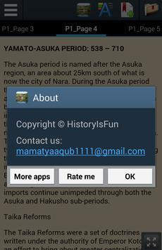 Ancient Japan History apk screenshot