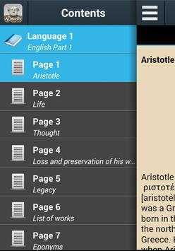 Biography of Aristotle poster