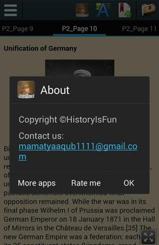 Otto von Bismarck Biography apk screenshot