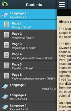 History of Brazil poster
