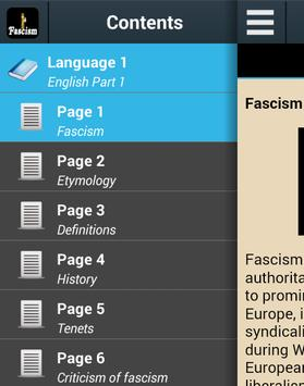 Fascism History poster