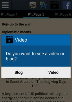 Gulf War History apk screenshot