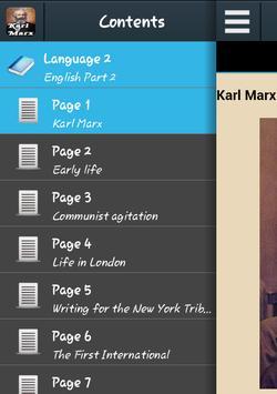 Biography of Karl Marx poster