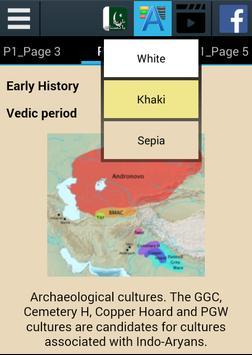 Pakistan History apk screenshot