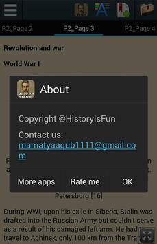 Biography of Stalin apk screenshot