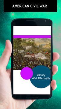American Civil War History apk screenshot