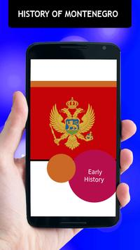 History Of Montenegro apk screenshot