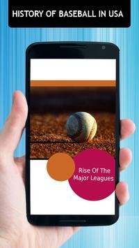 History Of Baseball In Usa apk screenshot