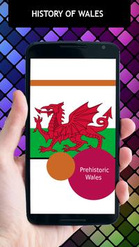 History Of Wales poster