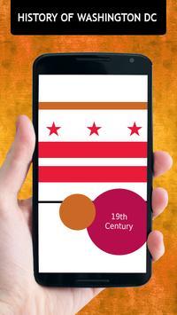History Of Washington DC poster