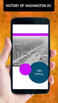 History Of Washington DC apk screenshot