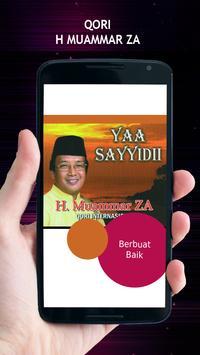 Qori H Muammar ZA poster