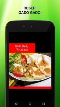 Resep Gado Gado poster
